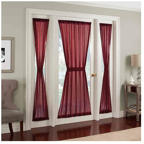 Other - 🆕 Crushed Voile Rod Side Window Curtain Panel